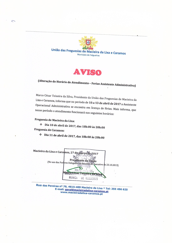 Aviso nº 01_2017