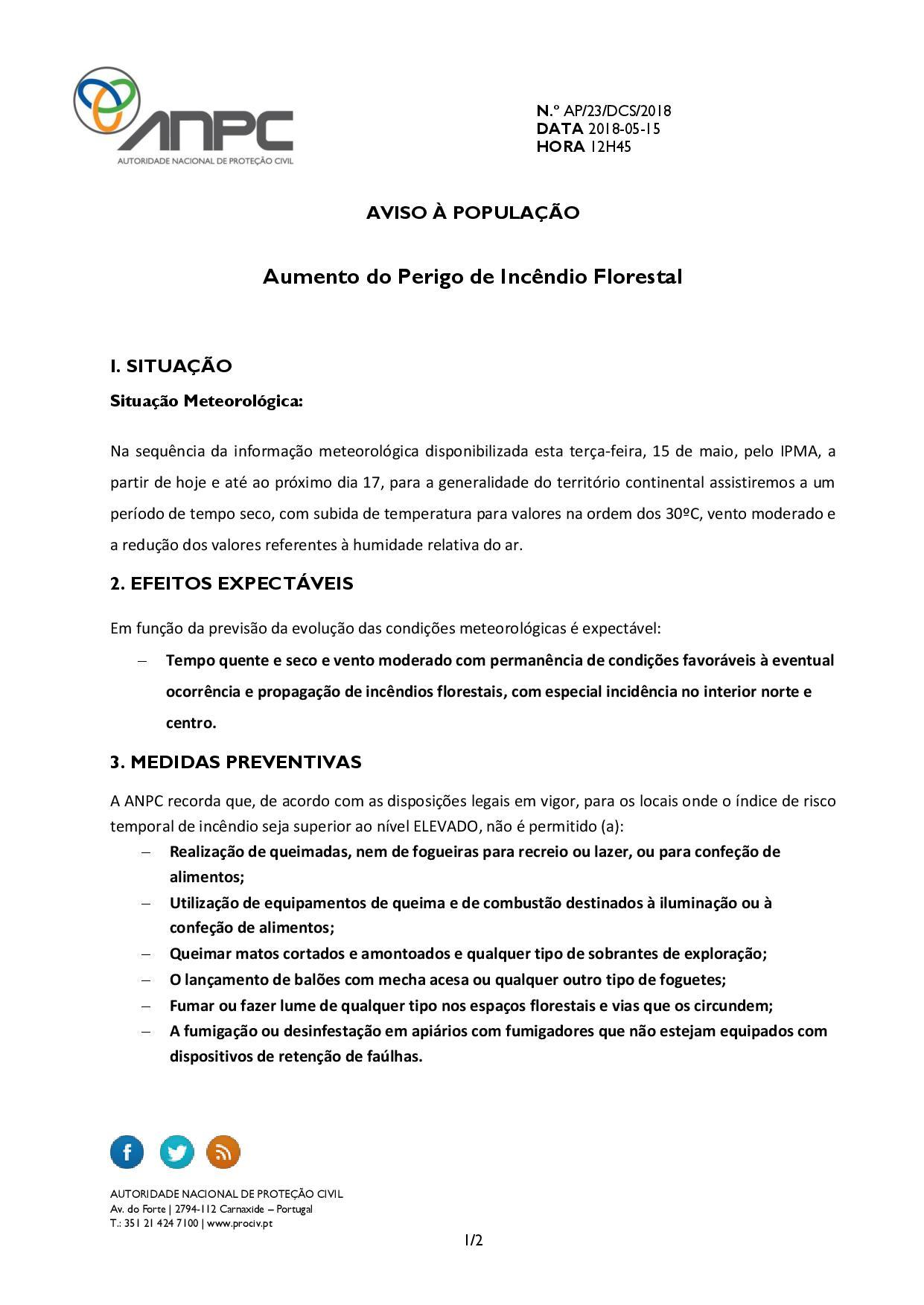 Aviso Perigo de Incêndio Florestal _ 15 a 17 Maio-page-001