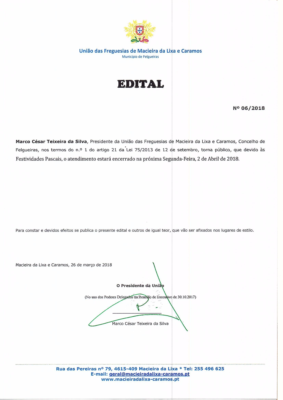 Edital nº 6_2018